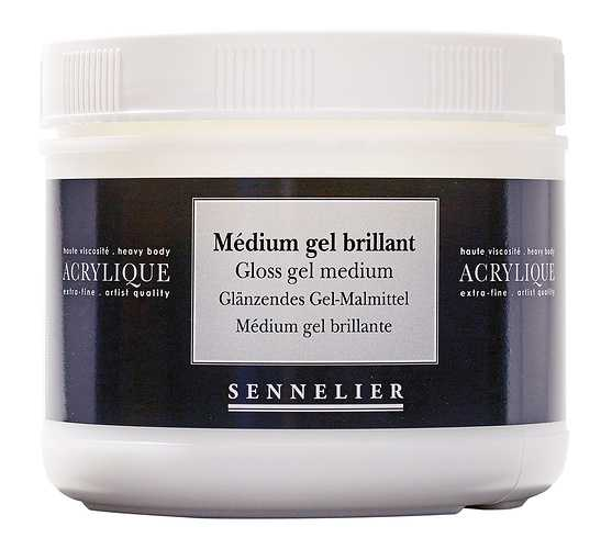 Medium gel brillant 0