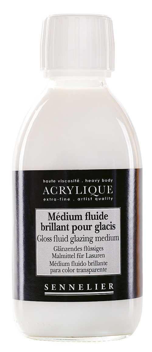 Medium fluide brillant pour glacis n125003-250mediumbrillantglacis