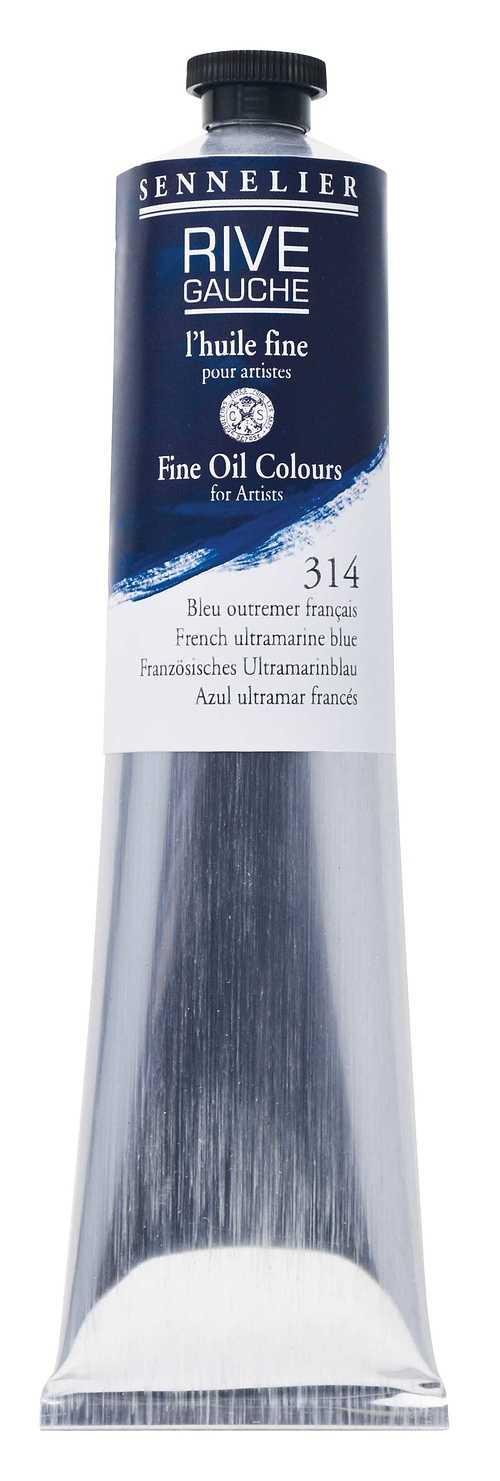Tubes huile fine RIVE GAUCHE rg-200ml-bleu