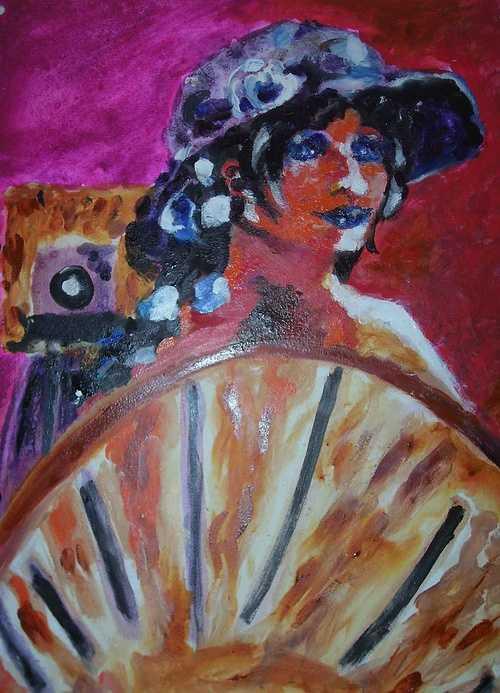 A dama do estúdio (La dame dans le studio) 0