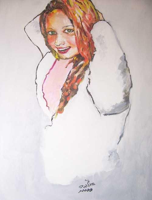 Retrato de Daniela Manera (Portrait de Daniela Manera) 0