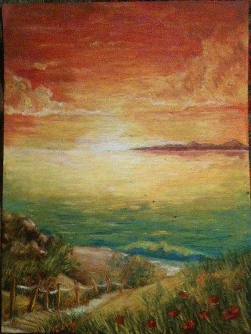 Beach Sunrise 0