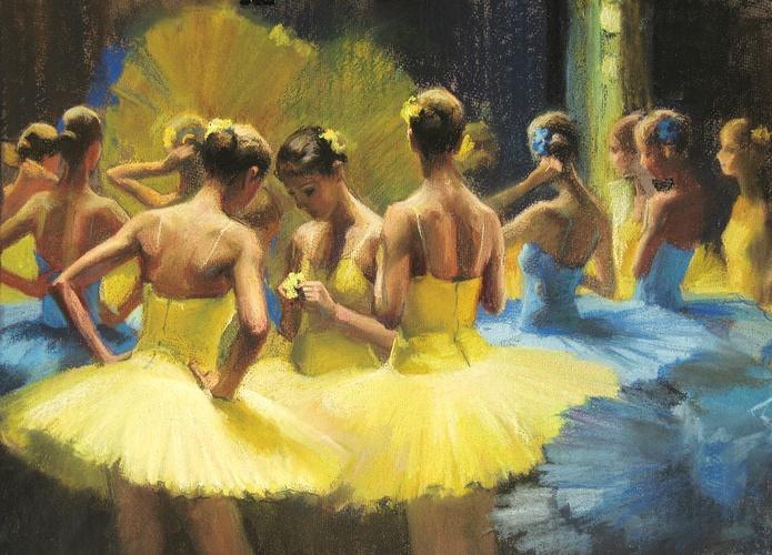 """""""Petites ballerines en costume de Nénuphars"""" 0"""