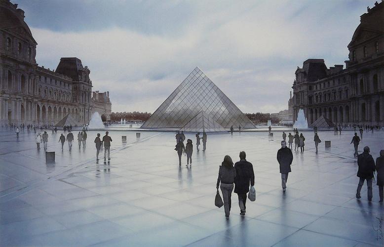 Songe sur la Pyramide du Louvre 0