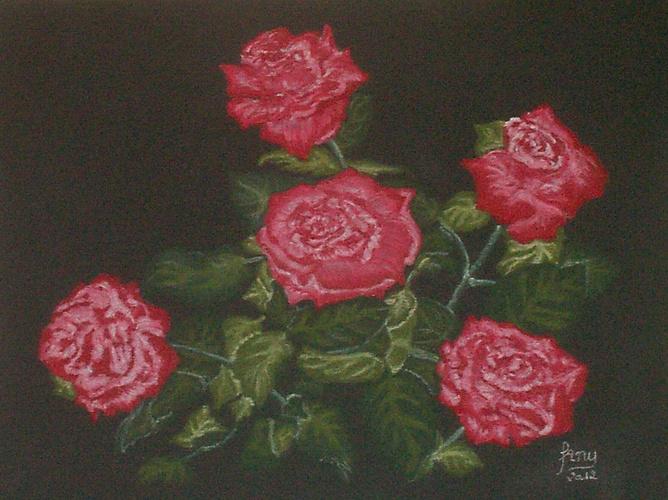 Bouquet de roses rouges 0