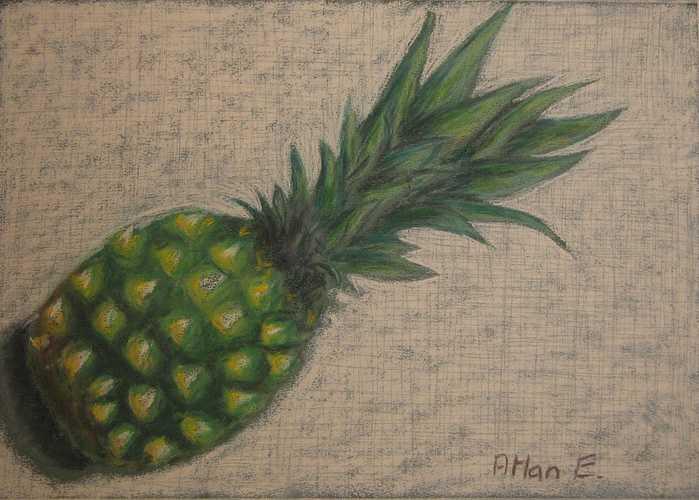 ANANAS VERT ananas0189