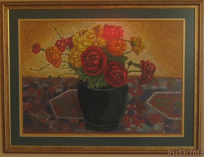 Vase de Roses 0
