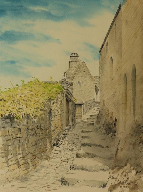 Beynac et Cazenac, la montée vers le château 0