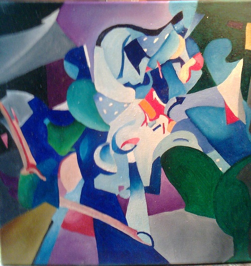 Composition abstraite 0