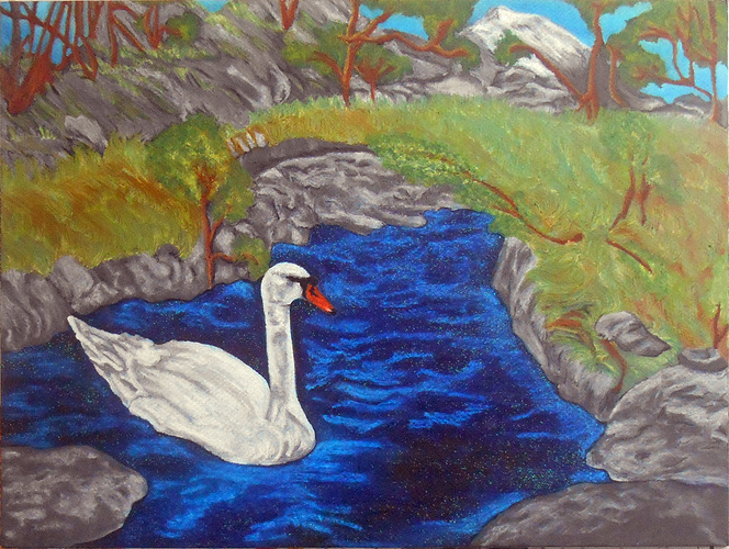 Swan in Megeve 0