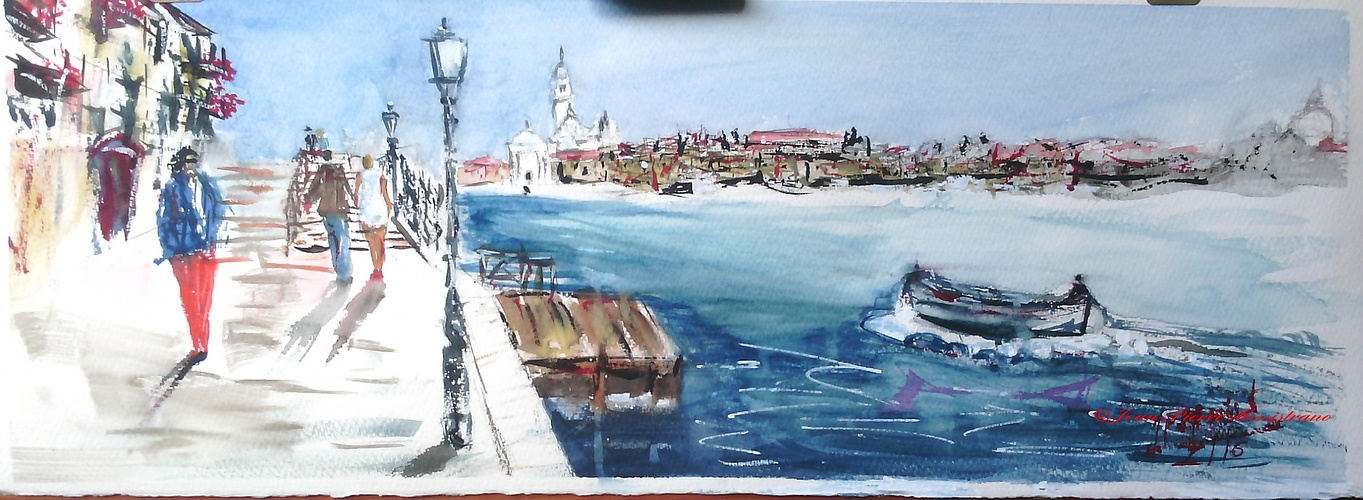 Promenade à Venise 0