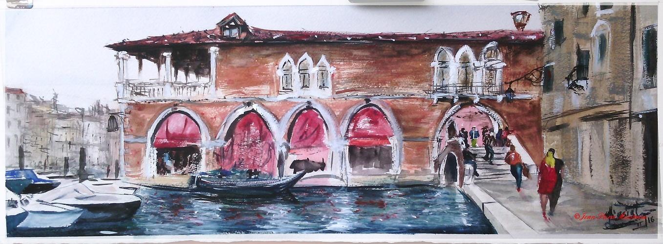 La pescheria a Venezia 0