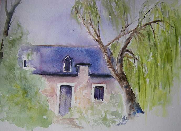 vieille maison à Lacommande 0