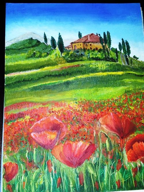 Tuscan landscape 0