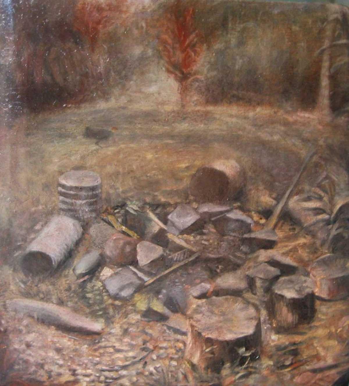 kuranda fireplace